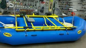 Powder Coated raft frame - Replay Sports